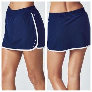 Fabletics Peggy Tennis Athletic Skort Navy XXL